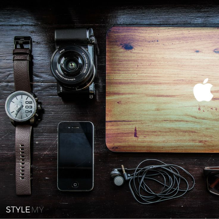 Wood Timber Look Laptop Skin for Apple MacBook Pro and MacBook Air - vinyl sticker decal covers.