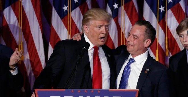 Reince Priebus será el jefe del ala oeste de la Casa Blanca de Trump