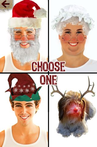 Santa booth app.  Take pictures of students to go with a writing assignment.