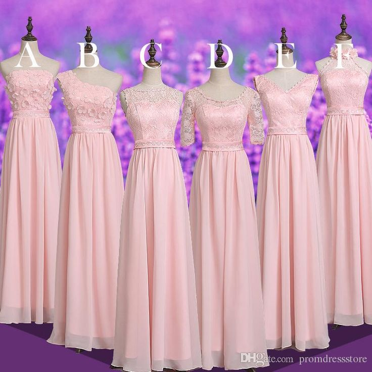 2017 Stylish Pink Bridesmaid Dress Chifffon Lace Sweet Classic Evening Gown Allure Girls Pageant Dress Prom Homecoming Cocktail Party Dress Evening Dresses Uk Floral Dresses From Promdressstore, $69.35| Dhgate.Com