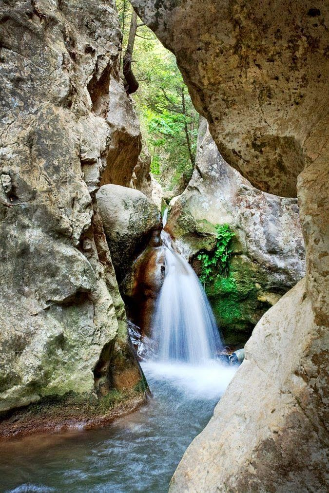 Xaris Xaris - Google+ -  Waterfalls in Samos island, Greece #greekphotos