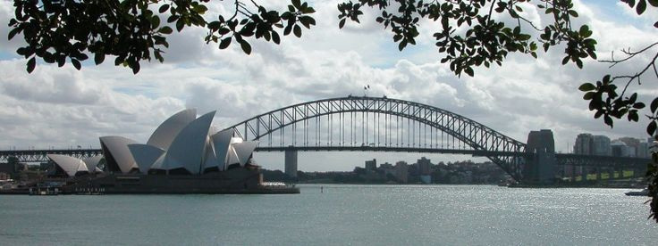 6 - AU - Sydney Harbour Bridge and Opera House