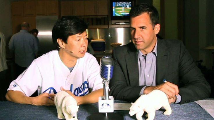 Ken Jeong joins EWC at Dodger Stadium - MLB News Videos