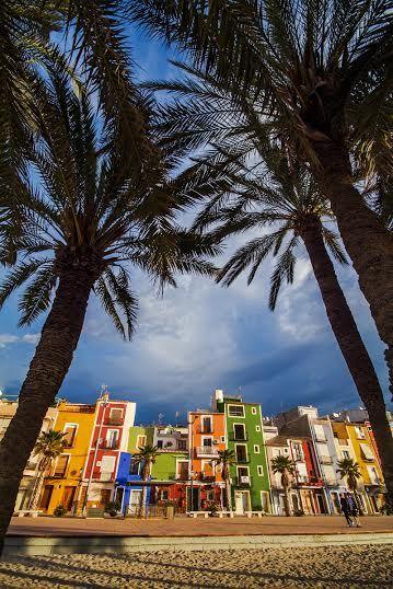 Historia y mar #Villajoyosa #Alicante http://benidormers.blogspot.com.es https://www.facebook.com/EnjoyingAlicante