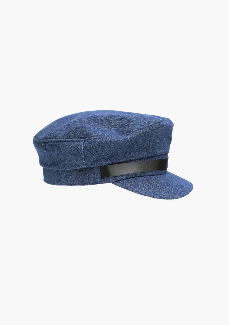LUCA  DENIM CAP  6thelabel.com @66thelabel #66thelabel #tommyhat #cap