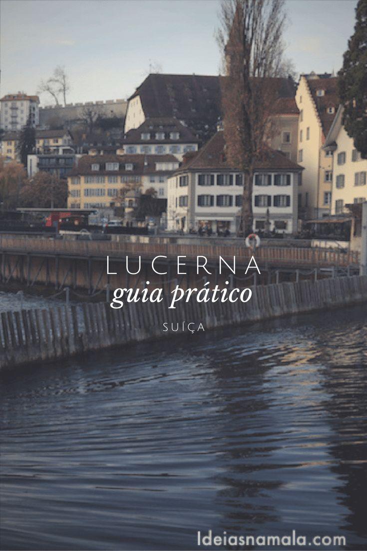 Nesse guia prático de Lucerna (Lucerne) - Suiça, você encontrará tudo o que precisa saber antes e durante a viagem. Saiba o que fazer em Lucerna, onde se hospedar, onde comer e muitas outras dicas para explorar a região central da Suíça. Pronto para se encantar com Lucerna?