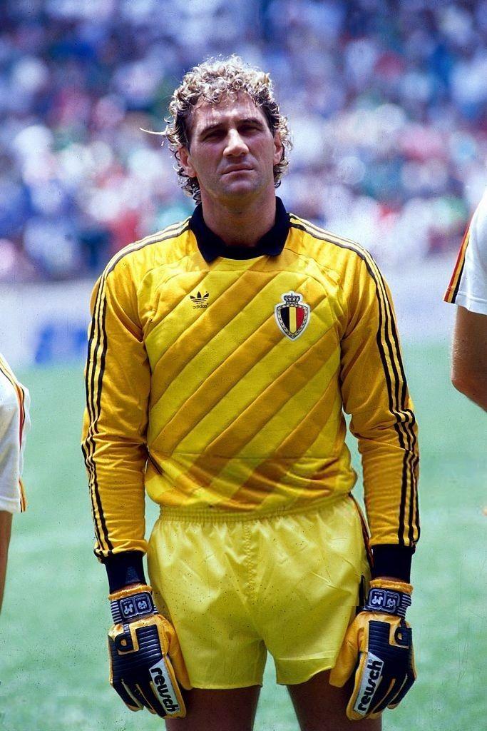 1986 World Cup Belgian goalkeeper Jean Marie Pfaff