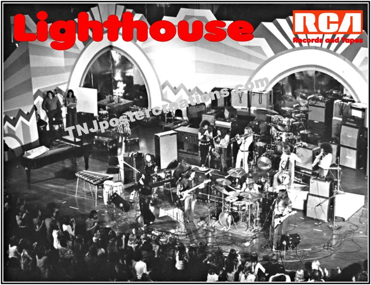 Lighthouse – Canadian Rock Band 1972 Poster – One Fine Morning – Sunny Days by MyGenerationShop on Etsy