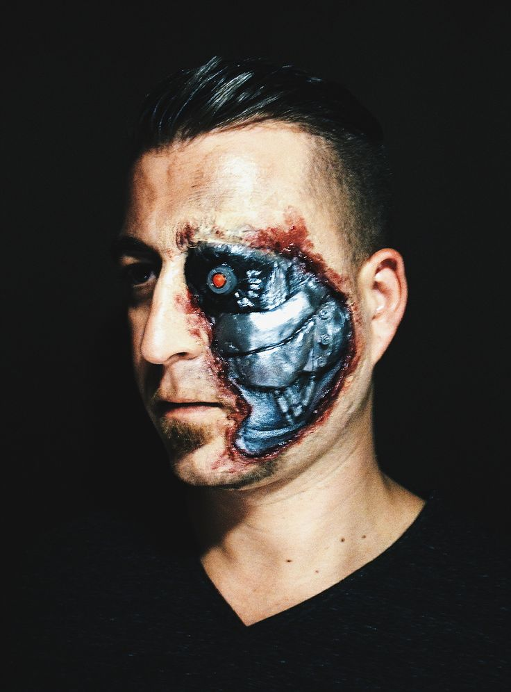 "Flóra Nagy makeup artist ""terminator"""