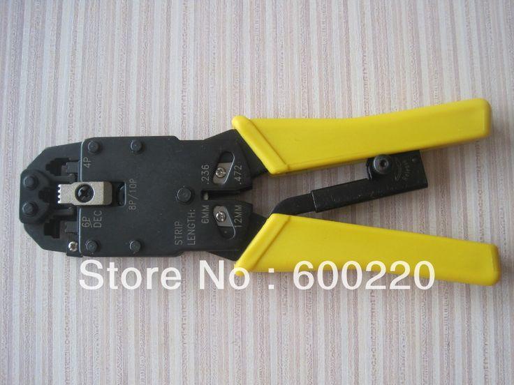 RJ45 RJ11 RJ12 Wire Cable Crimper Crimp PC Network Tool LS-200R
