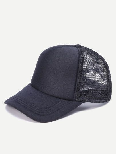 Casquette de base-ball en filet - noir  Only 6.63€