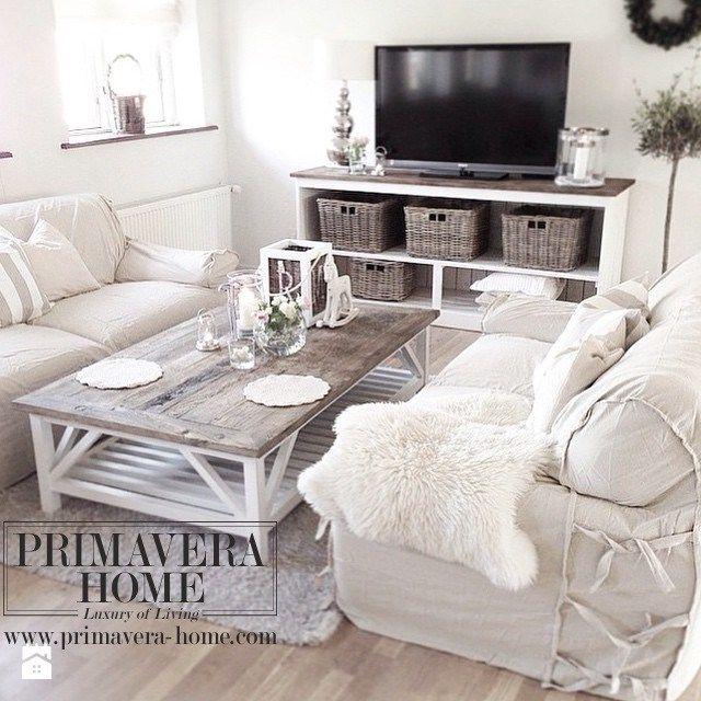 Wnętrza w stulu PROWANSALSKIM I SHABBY CHIC - Salon, styl prowansalski - zdjęcie od PRIMAVERA-HOME.COM