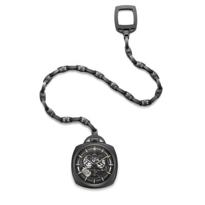 Pocket Watch Tourbillon GMT Ceramica http://www.orologi.com/cataloghi-orologi/panerai-special-editions-pocket-watch-tourbillon-gmt-ceramica-pam00446