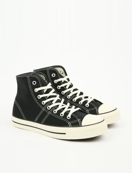 6ff3d981196c46 Converse Lucky Star Hi - Black Egret Egret – Pam Pam
