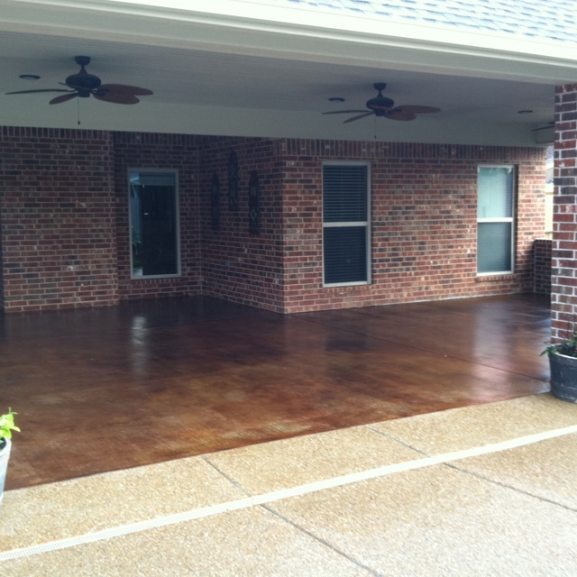 121 Best Images About Staining Concrete On Pinterest