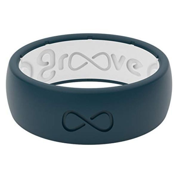 Groove Life Silicone Ring For Men And Women Wedding Or Engagement Rubber Band With Lifetime Coverage Breathable Grooves Comfort Fit And Durability Origin Rubber Rings For Men Rings For