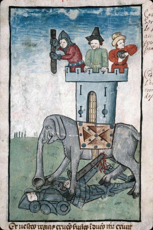 I Mcc 6,43     Speculum humanae salvationis, France 1470-1480.     Marseille, BM, ms. 89, fol. 25r