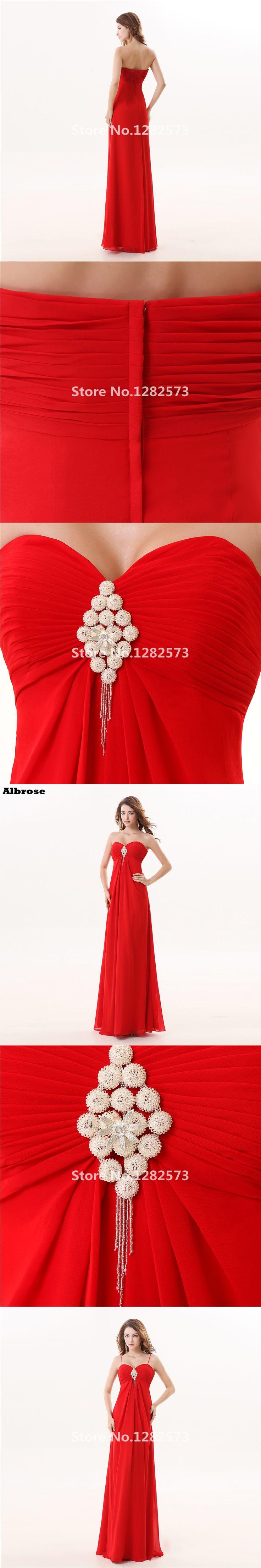Red Beach Bridesmaid Dresses Cheap Simple Pleat Bridesmaid Dress Long Chiffon Sweetheart Formal Party Gown Chic vestido de festa