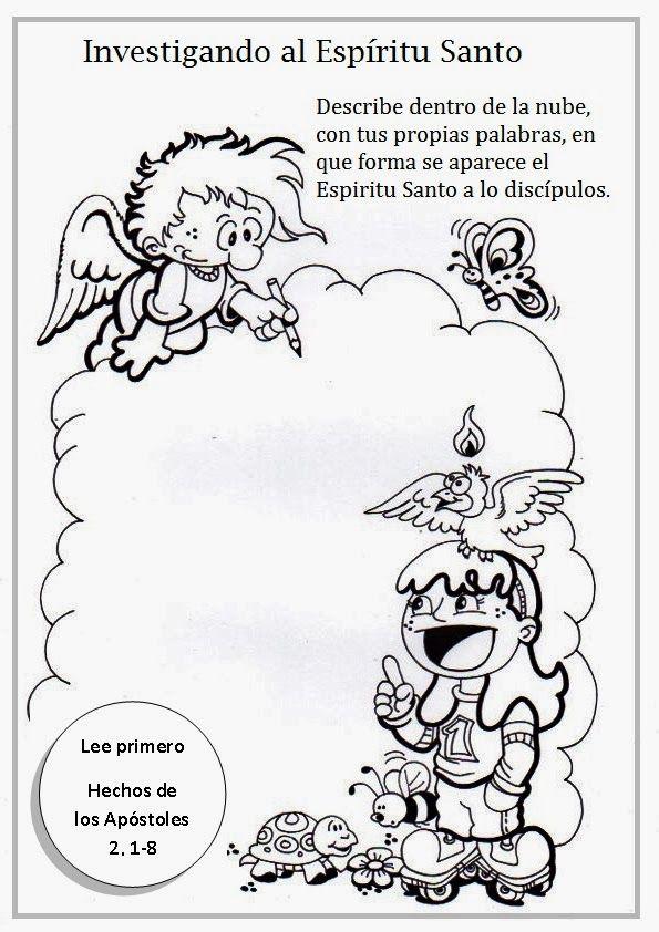 La Catequesis (El blog de Sandra): Recursos Catequesis Octavo Domingo de Pascua: Pent...