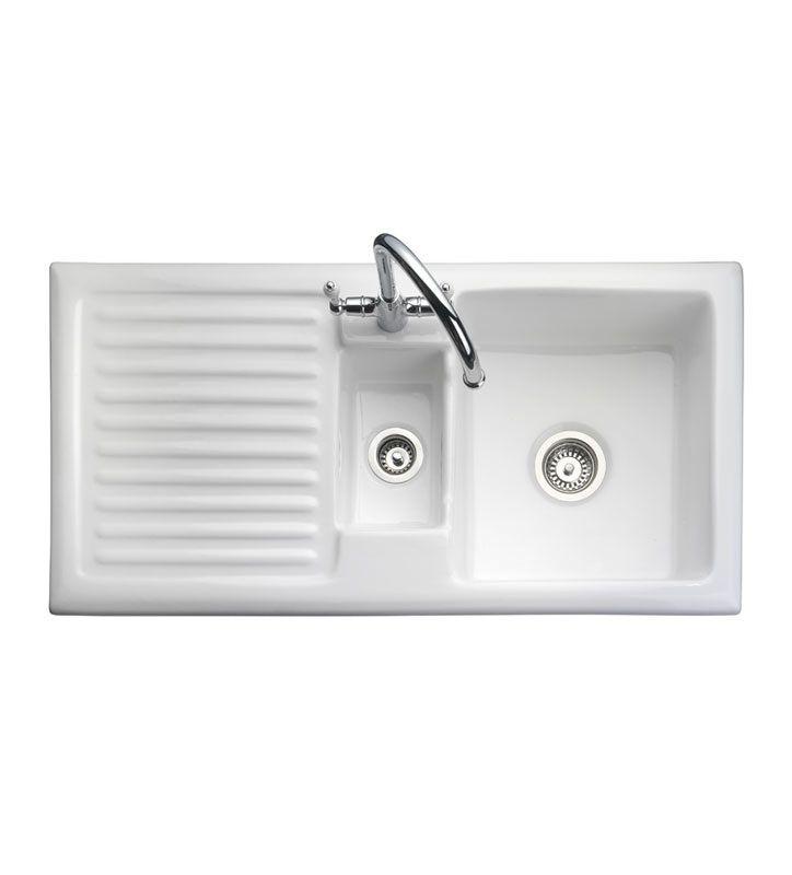 Sit On Italian Ceramic Kitchen Sink
