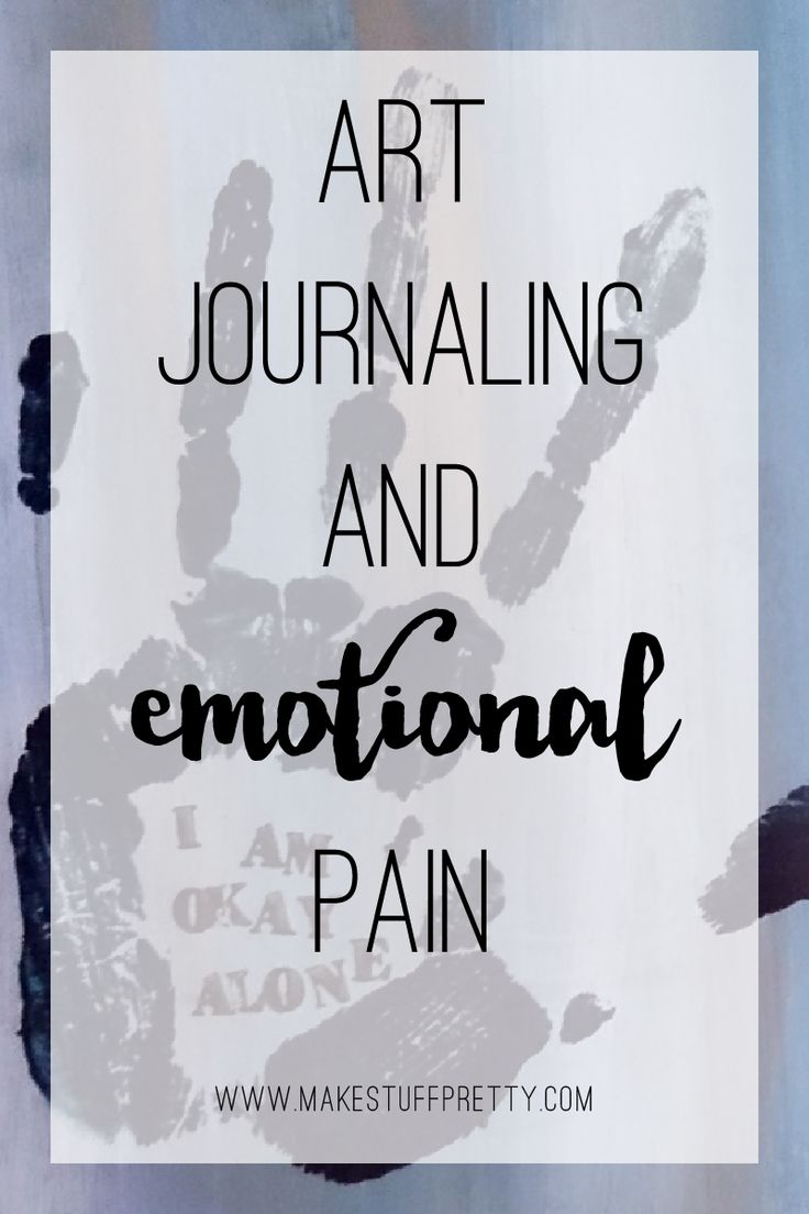 I talk a lot about art journaling as a creative habit. As all habits, creativity needs cultivating. How do we handle our creative habit when we go through emotional pain?