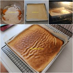 Tiger skin matcha roll cake/ Cake roll matcha kulit macan/ 虎皮绿茶卷蛋糕 • Luksunshine