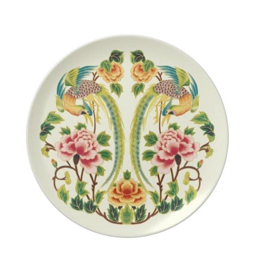 Vintage Oriental Birds Plate http://www.zazzle.fr/nan_engen/maison+cadeaux?cg=196548950148898031=2#products