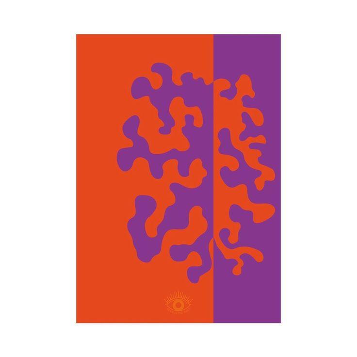 Split Coral Poster A3 Split Coral Poster A3 • • • #wallpa ...