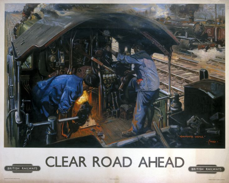 by the earley 1960's steam was on a clear road to the scrap yard.