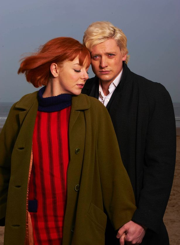 Sheridan Smith as Cilla Black with Aneurin Barnard as Bobby Willis in the mini series CILLA