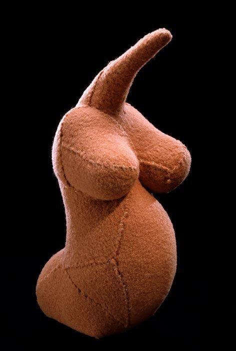 Louise Bourgeois Fragile Goddess 2002