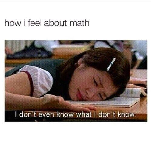 Love maths though