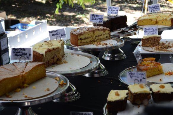 Cakes, Marrickville Organic Food Markets #OystersandOxtail #blog 3rd February 2013