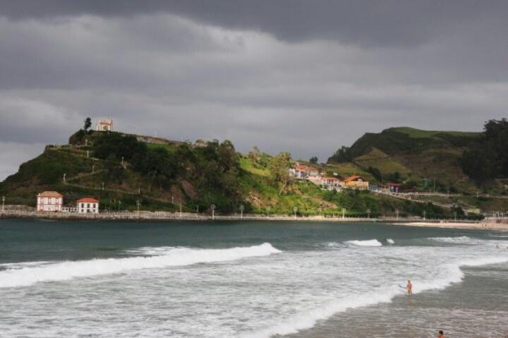 Playa de Ribadesella. Asturias