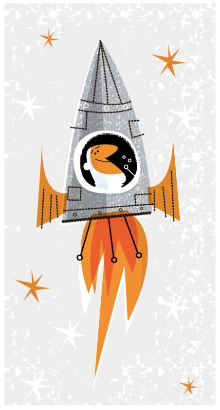 educational spot illustrations by david semple, via Behance