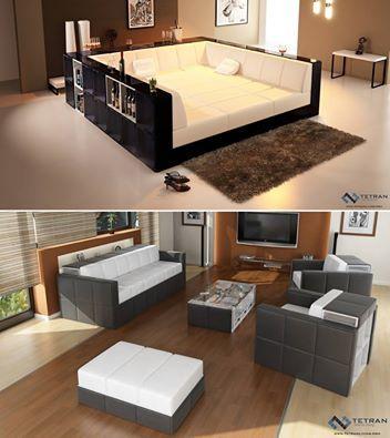 Modular Multi Functional Furniture By Tetran Living