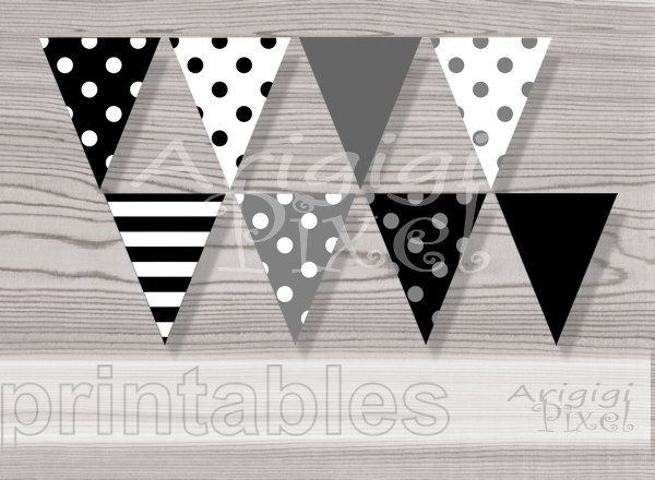 polka dot party flags - photo #29