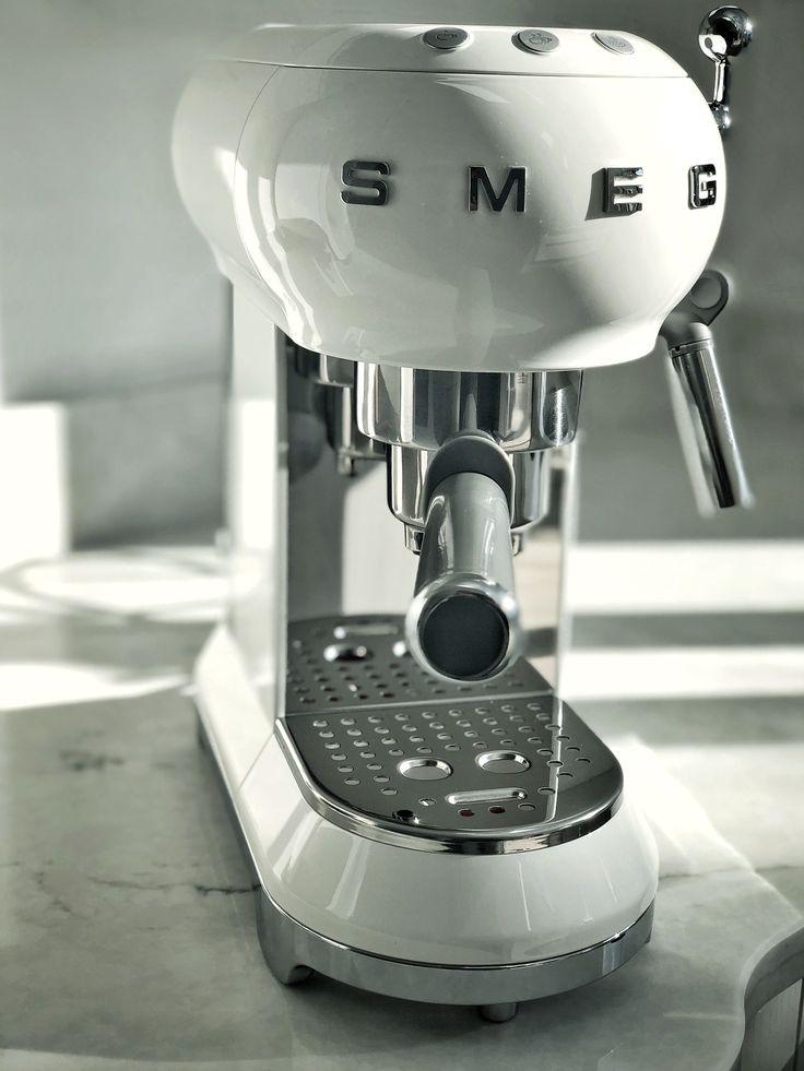 Smeg Espresso Machine Under coffee maker, Built