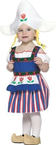 Dutch Girl Toddler Costume