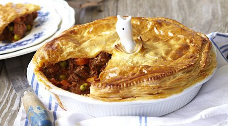The family meat pie is an old favourite for good reason... Should we cut you a slice?