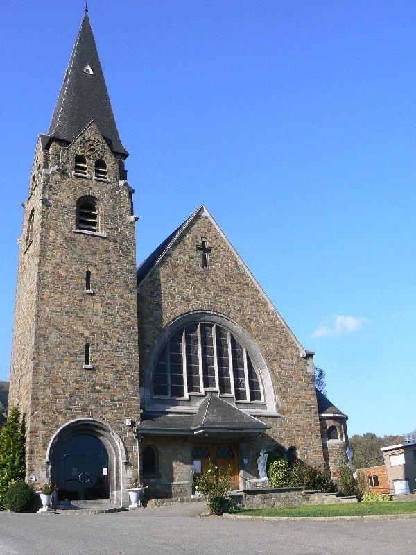 Herstal [Pontisse]   Église Notre-Dame de Bon Secours