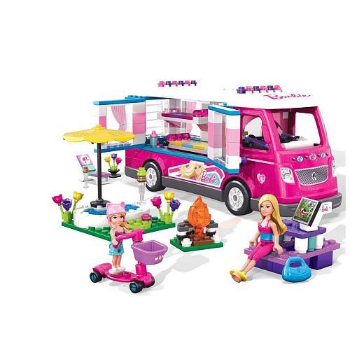 """Mega Bloks Barbie Luxe Camper - MEGA Brands - Toys """"R"""" Us"""