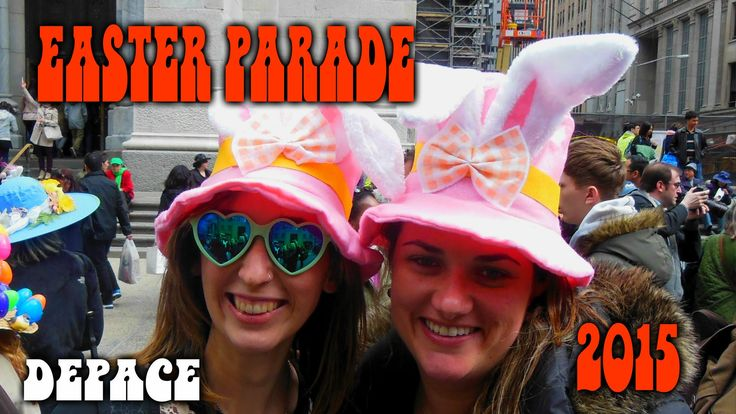 EASTER PARADE ON FIFTH AVENUE NYC 2015 We're going to need an Easter Hat for the Parade!!