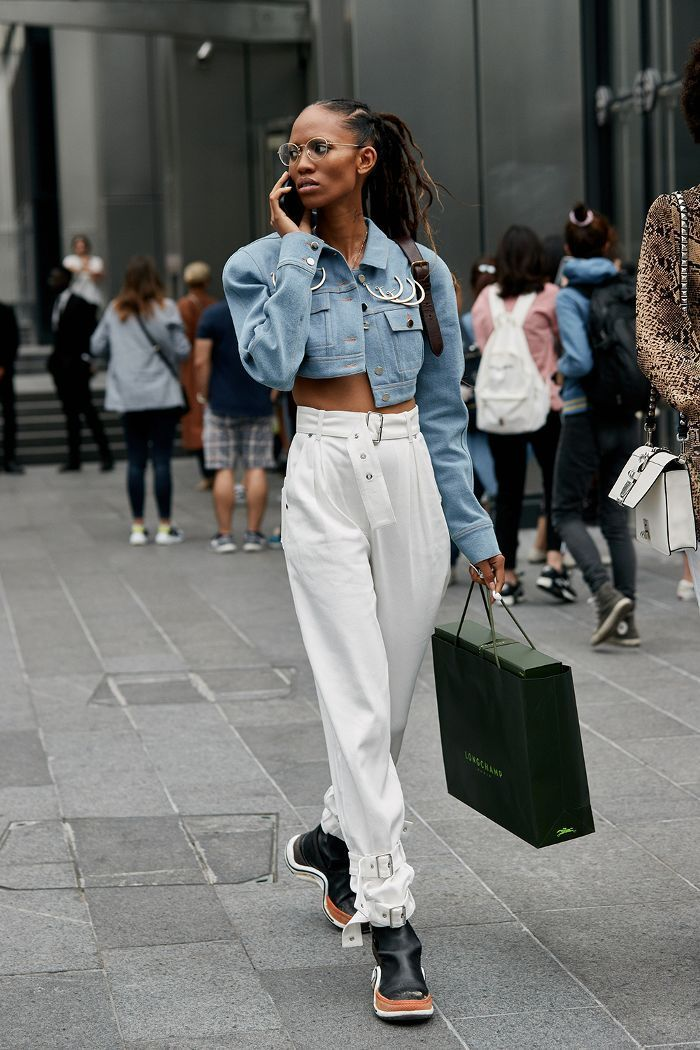 Der neueste Street Style der New York Fashion Week