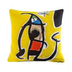 Housse de coussin Joan Miró - Femme Oiseau Etoile 1978