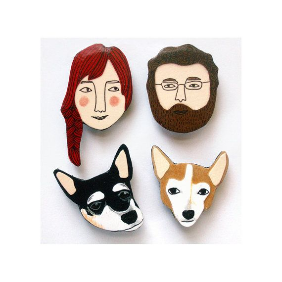 These Custom Face Magnets make a wonderful, personalized stocking stuffer for Christmas. (AFF)