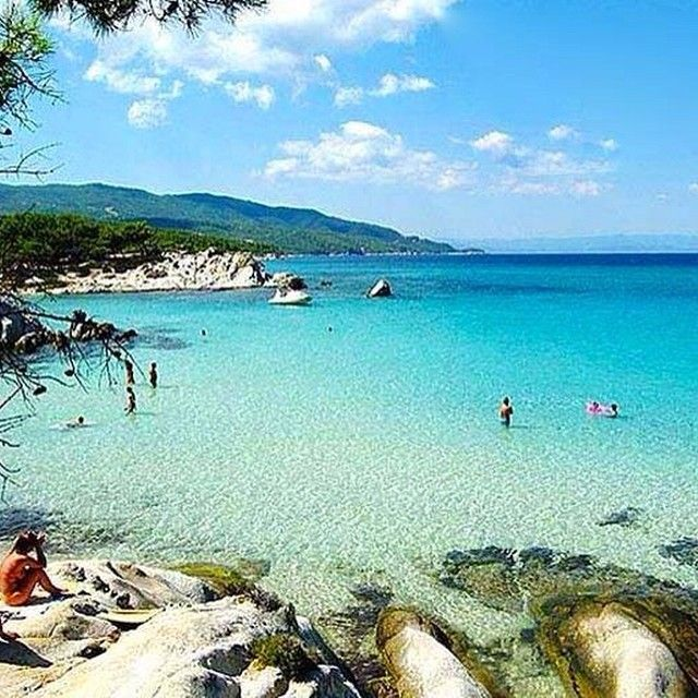 webgreece Kavourotripes #beach Halkidiki #greece #follow http://instagram.com/p/rIjdYuQK7d/?modal=true