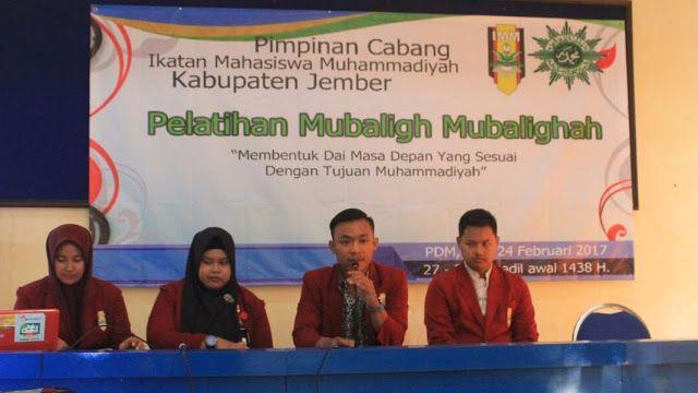PC IMM Jember Adakan Pelatihan Bentuk Da'i Muda Profesional #Mahasiswa Muhammadiyah mubaligh PC IMM Pelatihan