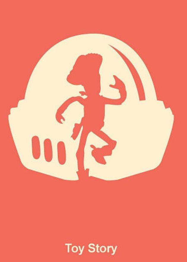 ToyStory - Minimalist Pixar posters