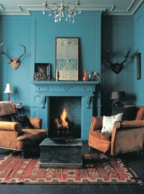 Inspiration for painting coving and skirting the same colour as the walls